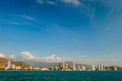Schöne Ansicht von Santa Marta, Kolumbien Lizenzfreie Stockfotografie