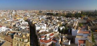 Schöne Ansicht von Sevilla Stockfotografie
