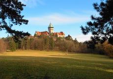 Schöne Ansicht von Smolenice-Schloss, Slowakei lizenzfreie stockfotografie