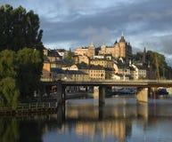 Schöne Ansicht von Stockholm Stockfoto