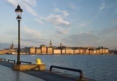 Schöne Ansicht von Stockholm Lizenzfreies Stockbild