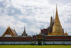 Schöne Ansicht von Wat Phra Kaew Temple des Emerald Buddhas f Stockfoto
