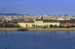 Schöne Ansicht von Wien, Österreich Lizenzfreie Stockbilder
