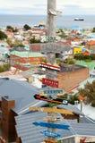 Schöne Ansicht zu den Punta Arenas Lizenzfreie Stockbilder