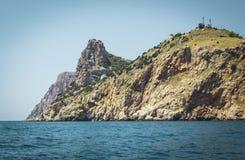 Schöne Ansichten der Bucht des Kopfschutzes Stockfotos