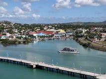 Schöne Ansichten von Antigua Stockfotos