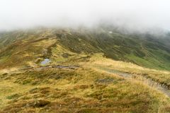 Schöne Ansichten von Berglandschaft lizenzfreies stockbild