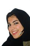 Schöne arabische Frau stockfotos