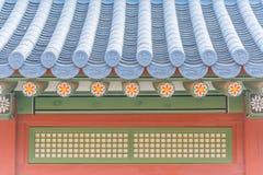 Schöne Architektur in Deoksugungs-Palast an Seoul-Stadt, Kore Stockfoto