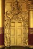 Schöne Architektur der alten Goldtür Lizenzfreie Stockfotos