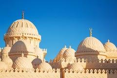 Schöne Architektur der Moschee in Hurghada Lizenzfreie Stockbilder