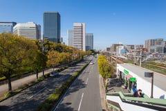 Schöne Architektur, die Osaka errichtet Stockfoto