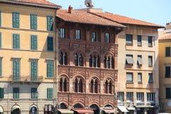 Schöne Architektur eines Gebäudes lizenzfreie stockbilder