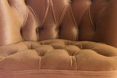Schöne Art der weichen rosa Sitznahaufnahme stockbilder