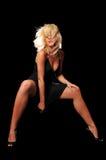 Schöne Art und Weise blond Lizenzfreies Stockbild