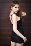 Schöne asiatische Frau Lizenzfreie Stockbilder