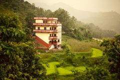 Schöne asiatische Landschaft Lizenzfreies Stockfoto