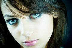 Schöne Augen Lizenzfreies Stockbild