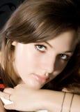 Schöne Augen lizenzfreie stockfotos