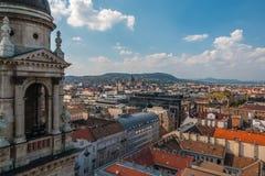 Schöne Aussicht Budapest Ungarn Stockbild