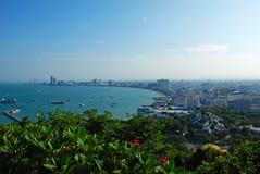 Schöne Aussicht in Pattaya lizenzfreies stockfoto