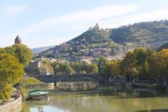 Schöne Aussicht von Georgia stockbild