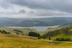 Schöne australische Landschaft mit See NSW, Australien Stockbilder