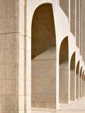 Schöne Bögen sind eine häufige Anzeige von Arabien Stockfotografie