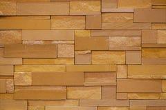 Schöne Backsteinmauer Stockfoto