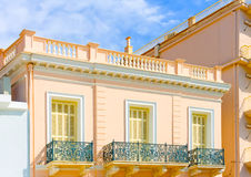 sch ne balkone stockfoto bild 64364178. Black Bedroom Furniture Sets. Home Design Ideas