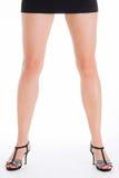 Schöne Beine Stockfoto