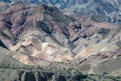 Schöne Berge nahe Aconcagua-Spitze Lizenzfreies Stockfoto