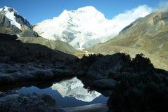 Schöne Bergkordilleren lizenzfreies stockbild