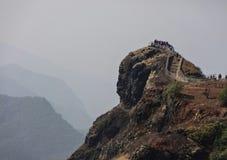 Schöne Bergkuppe Lizenzfreies Stockbild