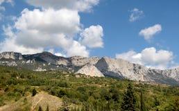 Schöne Berglandschaft Lizenzfreies Stockfoto