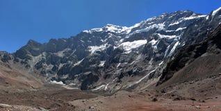 Schöne Berglandschaft in den Anden Lizenzfreie Stockbilder