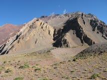 Schöne Berglandschaft in den Anden Lizenzfreies Stockbild