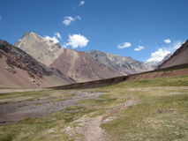 Schöne Berglandschaft in den Anden Lizenzfreie Stockfotografie