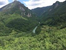 Schöne Berglandschaft in Montenegro lizenzfreie stockbilder