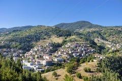 Schöne Berglandschaft von Bulgarien- - Rodopite-Berg Stockbilder