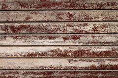 Schöne Beschaffenheit des Schmutzes Rusty Stripes Wall horizontal Patt Stockbild