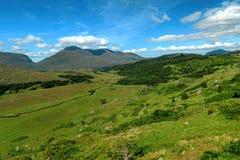Schöne Beschaffenheit und Landschaften von Irland Stockbilder