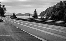 Schöne Beschaffenheit von Norwegen lizenzfreies stockfoto