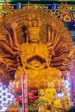 Schöne Bilder von Guanyim oder Guan Yin, chinesischer Gott auf Chinesisch Lizenzfreie Stockfotos