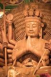Schöne Bilder von Guanyim oder Guan Yin, chinesischer Gott auf Chinesisch Stockbild