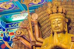 Schöne Bilder von Guanyim oder Guan Yin, chinesischer Gott auf Chinesisch Lizenzfreie Stockfotografie