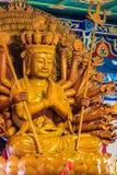 Schöne Bilder von Guanyim oder Guan Yin, chinesischer Gott auf Chinesisch Lizenzfreies Stockfoto