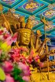 Schöne Bilder von Guanyim oder Guan Yin, chinesischer Gott auf Chinesisch Lizenzfreie Stockbilder