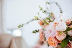 Schöne blühende Blumen lizenzfreies stockbild
