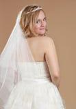 Schöne blonde Braut Lizenzfreies Stockbild